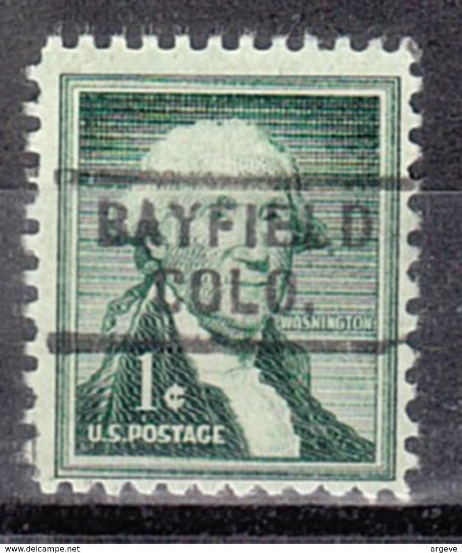 USA Precancel Vorausentwertung Preo, Locals Colorado, Bayfield 729 - Vereinigte Staaten