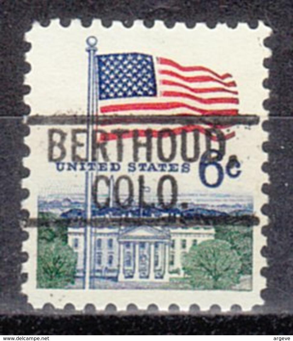 USA Precancel Vorausentwertung Preo, Locals Colorado, Berthoud 802 - Vereinigte Staaten