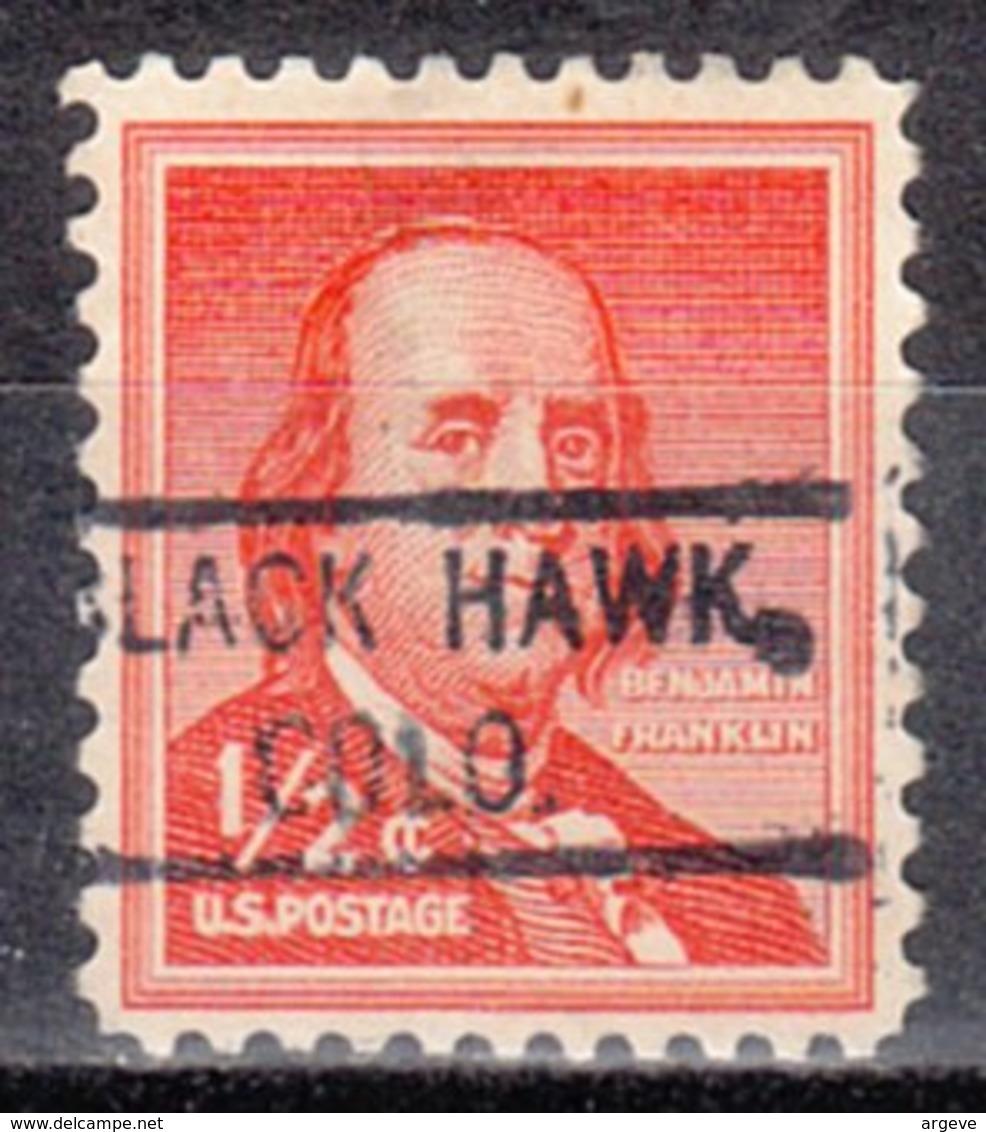 USA Precancel Vorausentwertung Preo, Locals Colorado, Black Hawk 804 - Vereinigte Staaten