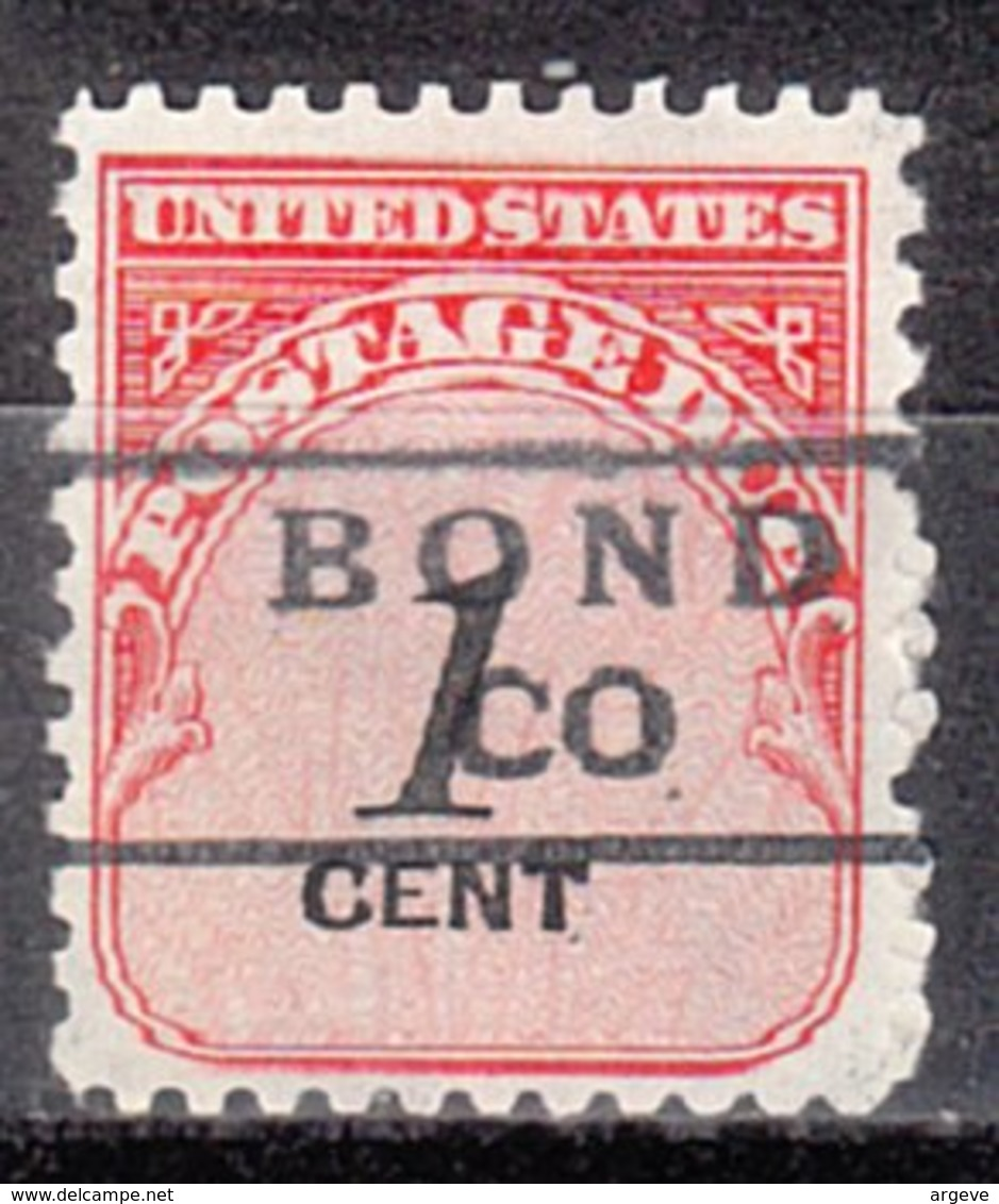 USA Precancel Vorausentwertung Preo, Locals Colorado, Bond 871 - Vereinigte Staaten