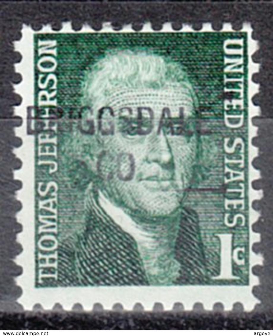 USA Precancel Vorausentwertung Preo, Locals Colorado, Briggsdale 841 - Vereinigte Staaten