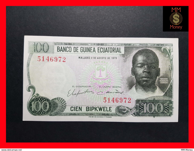 EQUATORIAL GUINEA 100 Bipkwele 3.8.1979  P. 14   UNC - Guinea Ecuatorial
