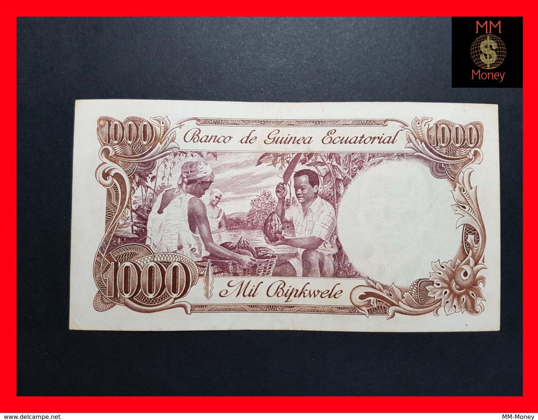 EQUATORIAL GUINEA 1.000 Bipkwele 3.8.1979  P. 16   VF - Guinée Equatoriale