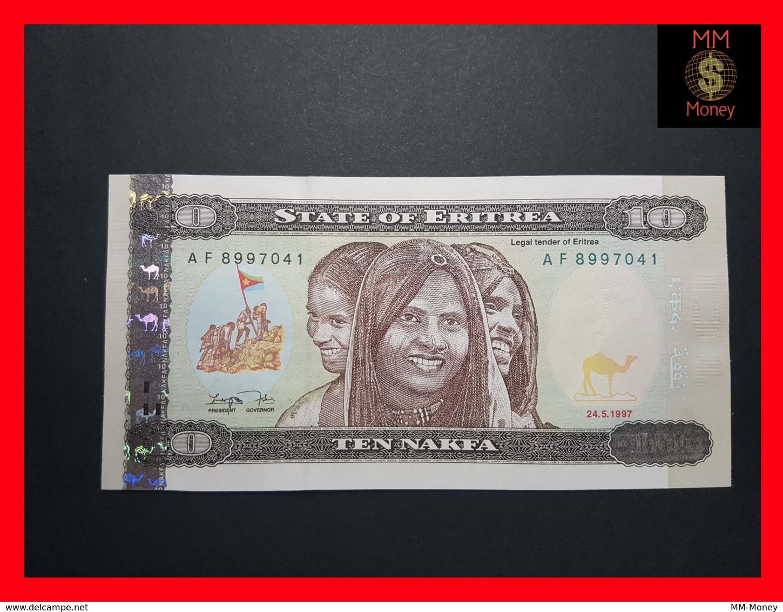 ERITREA 10 Nakfa 24.5.1997  P. 3  UNC - Erythrée