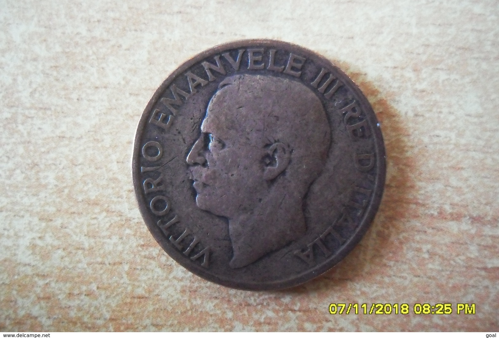 10 Ctmes (IND.IMP.) Italie De 1921 En TTB+ - Other Coins