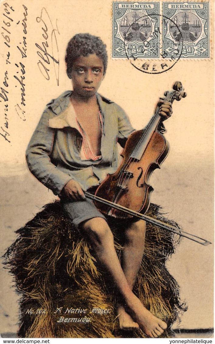 Bermudes - Native Fidler - Belle Oblitération - Bermudes