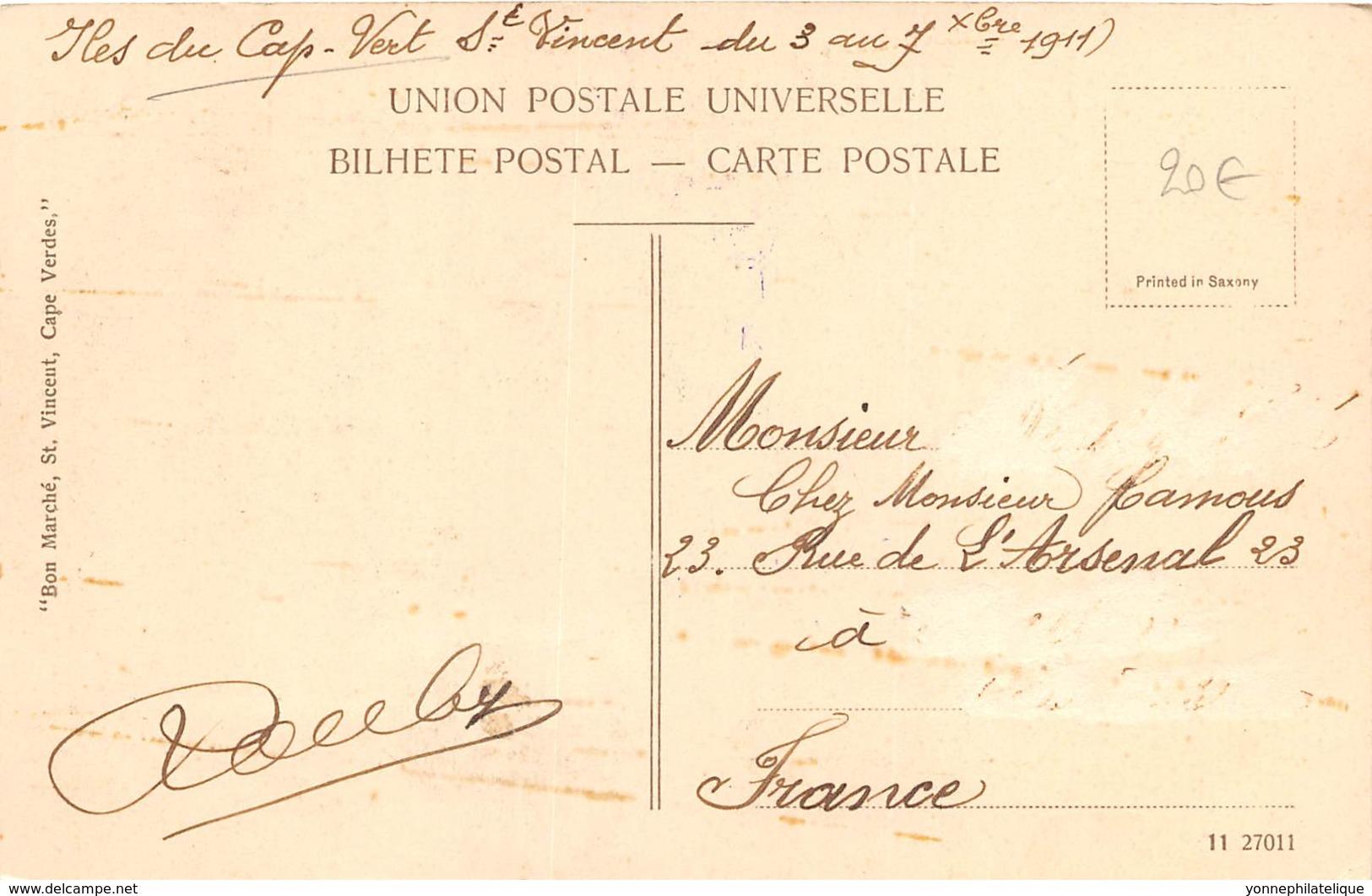 Cap Vert / - The Little Nurse - St Vincent - Belle Oblitération - Cap Vert