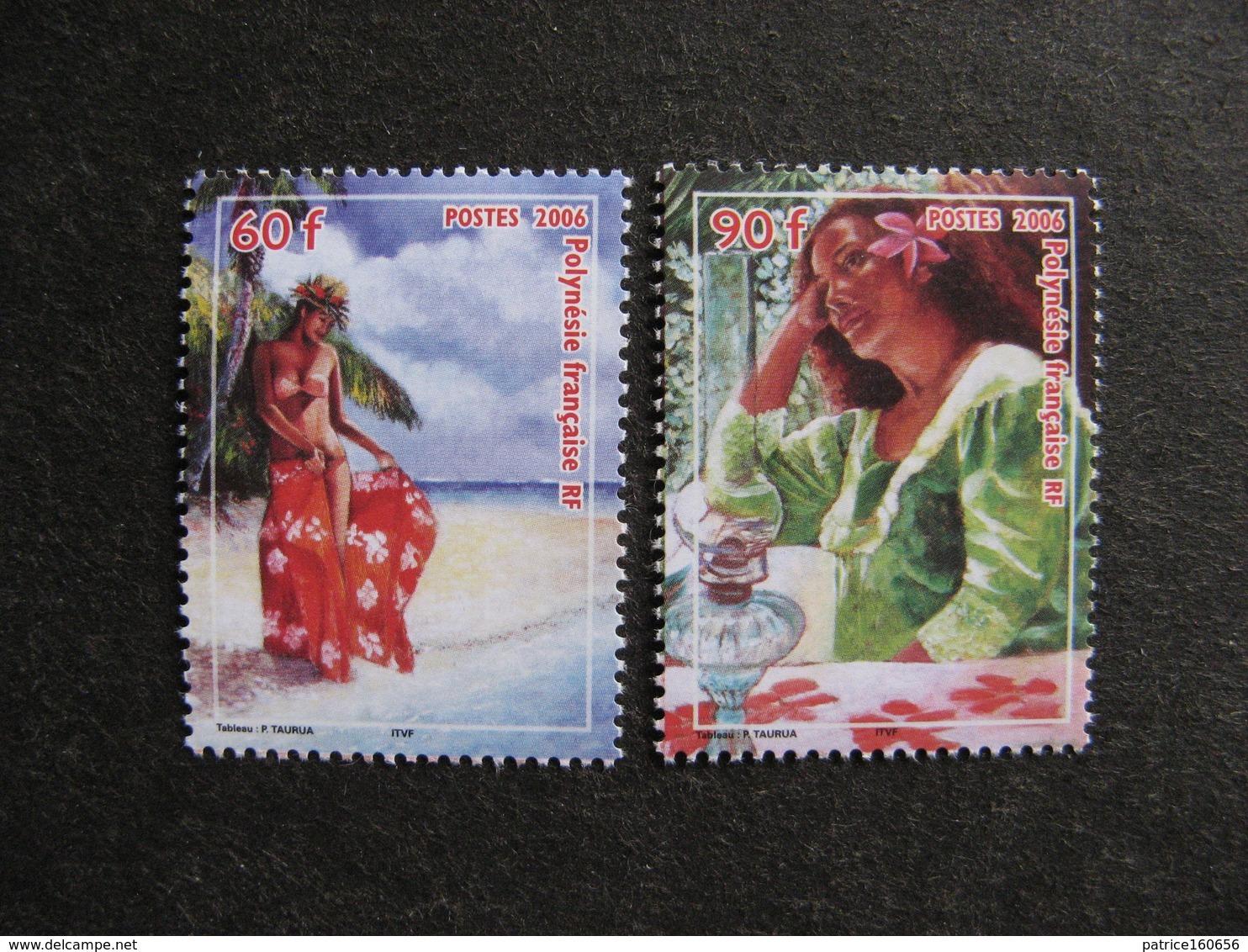 Polynésie: TB Paire N° 764 Et N° 765, Neufs XX. - Polynésie Française