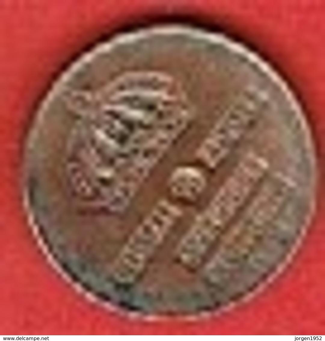 SWEDEN  #  1 ØRE FROM 1958 - Suède