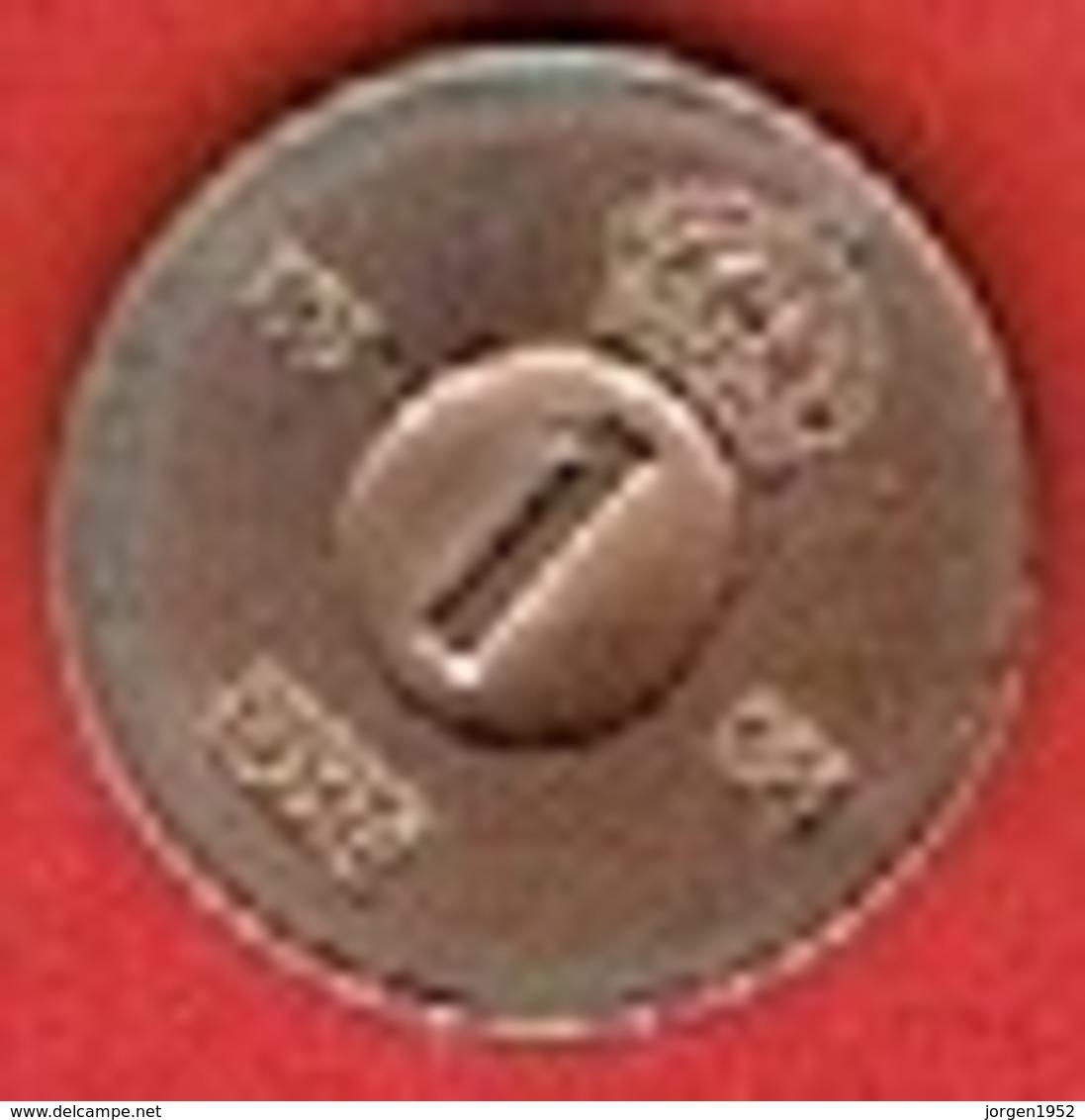 SWEDEN  #  1 ØRE FROM 1965 - Suède