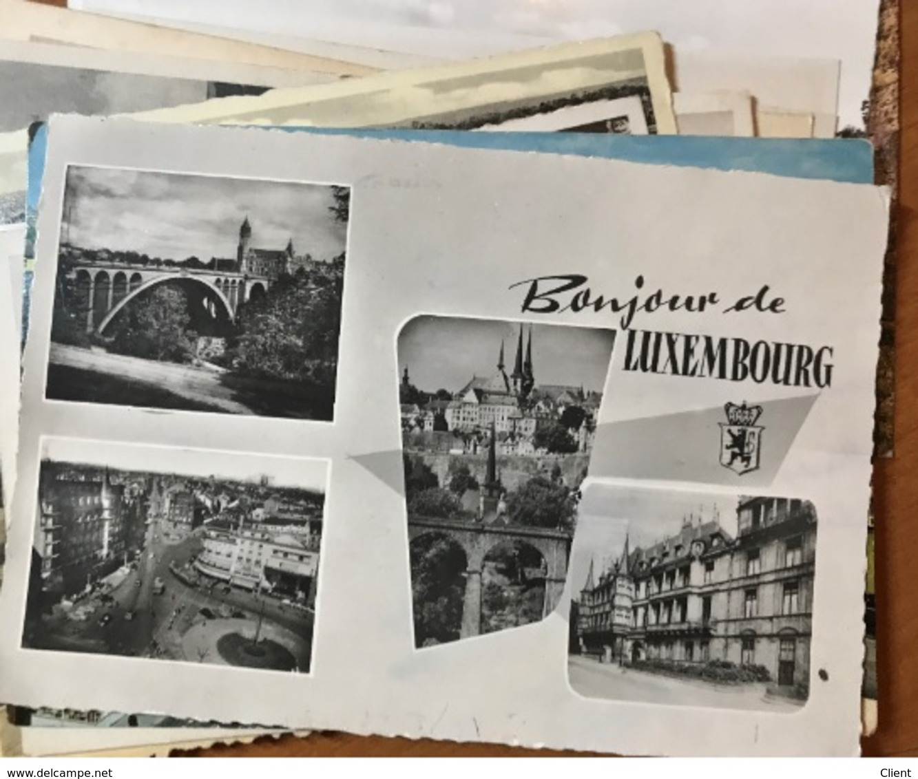 LUXEMBOURG - 100 Cartes Postales Ville De Luxembourg Années Divers - Autres