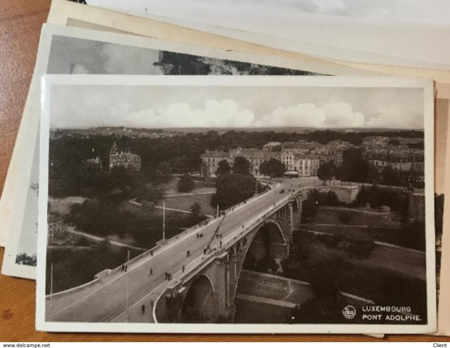 LUXEMBOURG - 100 Cartes Postales Ville De Luxembourg Années Divers - Cartes Postales