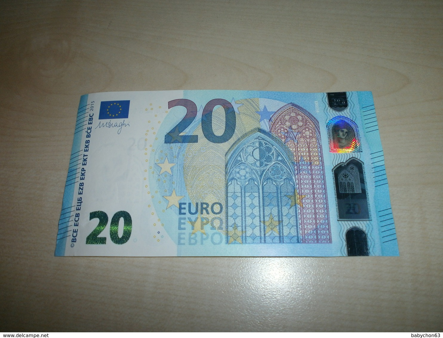 20 EUROS (Z Z002 C4) - EURO