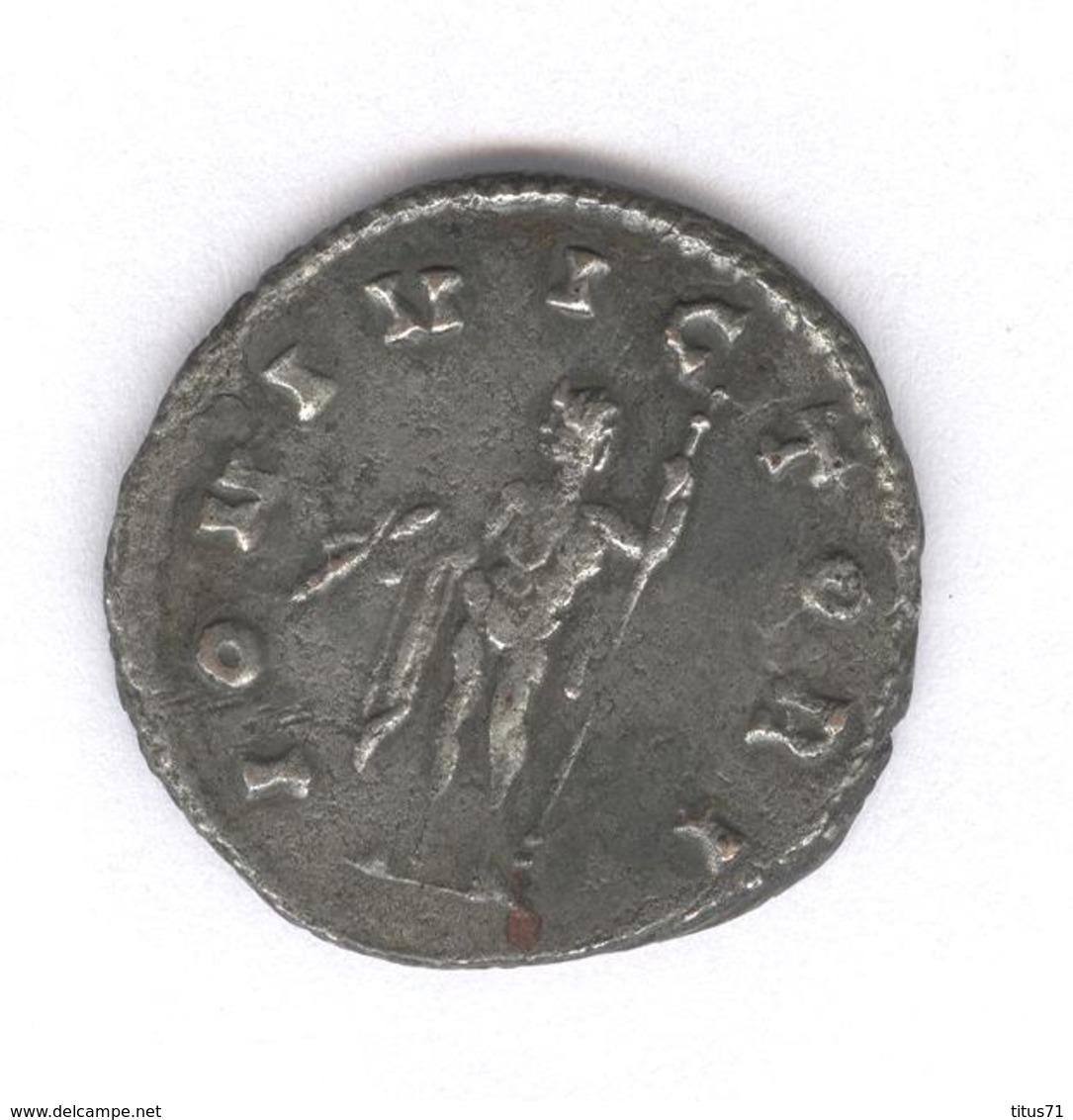 Antoninien Claudius II - Iovi Victori - Monnaie Rome Antique - 5. L'Anarchie Militaire (235 à 284)