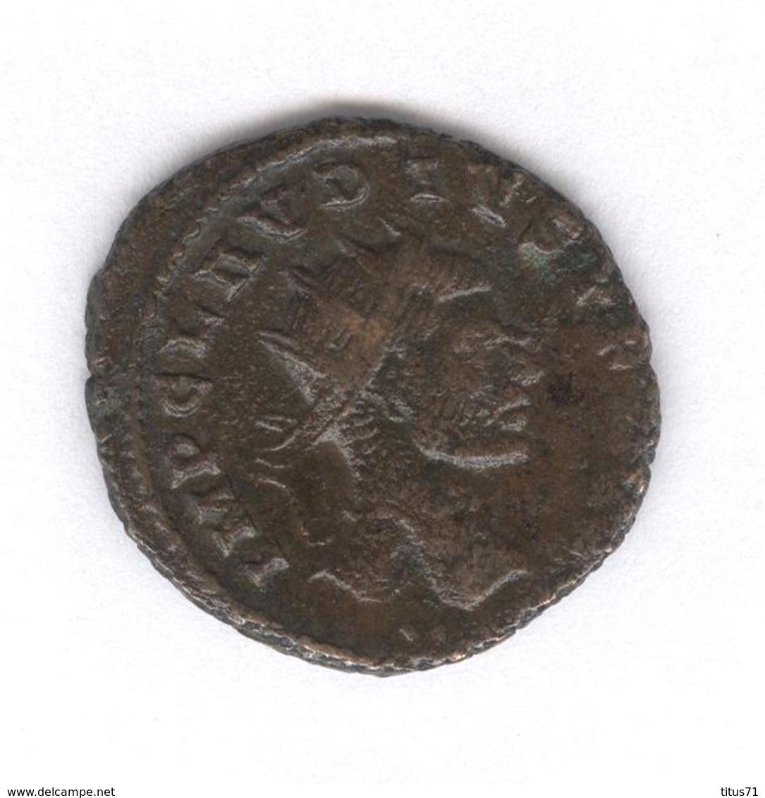 Antoninien Claudius II - Victoriae Gothic - Monnaie Rome Antique - 5. L'Anarchie Militaire (235 à 284)