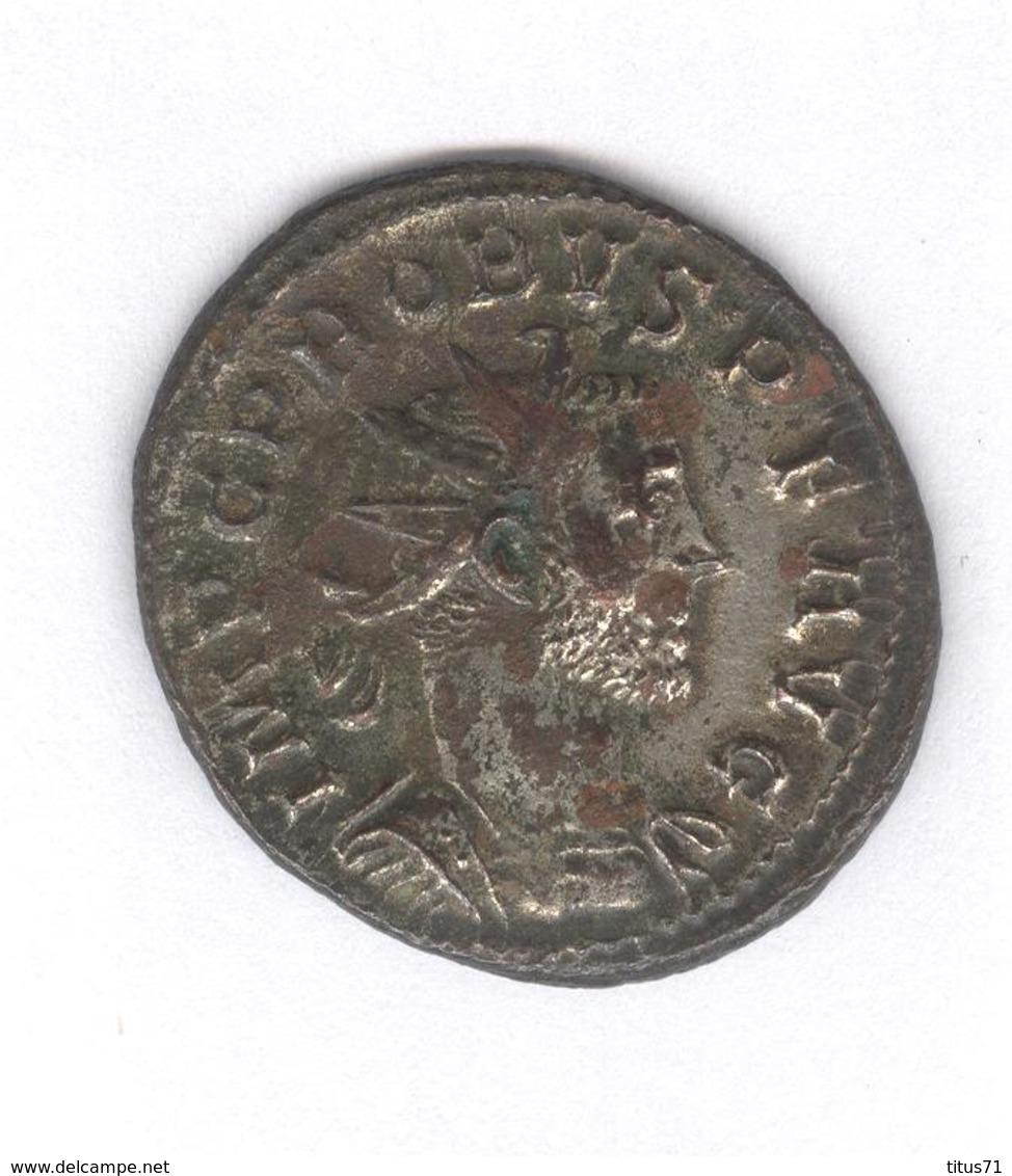 Antoninien Probus - Mars Victor - Monnaie Rome Antique - 5. L'Anarchie Militaire (235 à 284)
