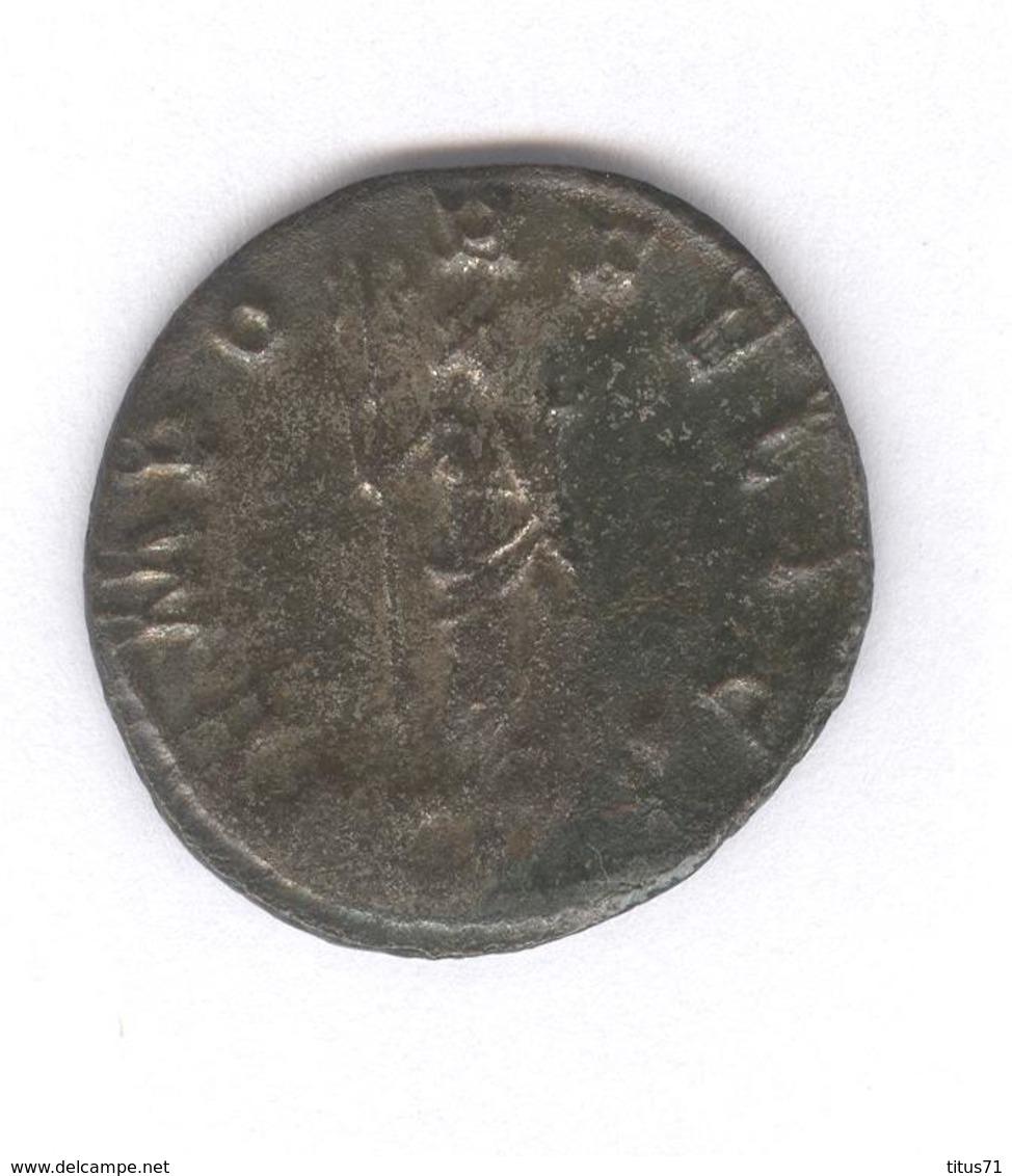 Antoninien Probus - Tempor Felici - Monnaie Rome Antique - 5. L'Anarchie Militaire (235 à 284)
