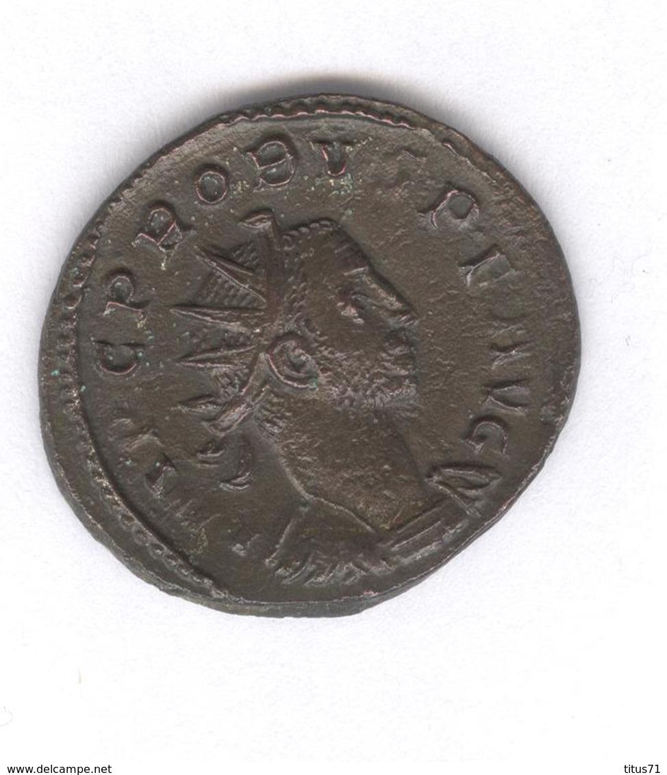 Antoninien Probus - Fides Militum - Monnaie Rome Antique - 5. L'Anarchie Militaire (235 à 284)