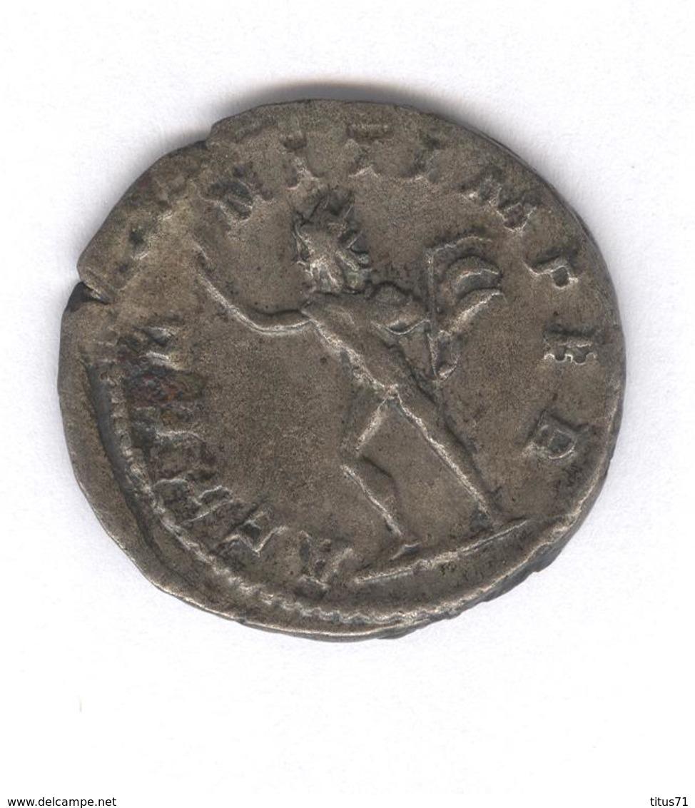 Antoninien Philippe II  - Aeternit Imper - Monnaie Rome Antique - 5. L'Anarchie Militaire (235 à 284)