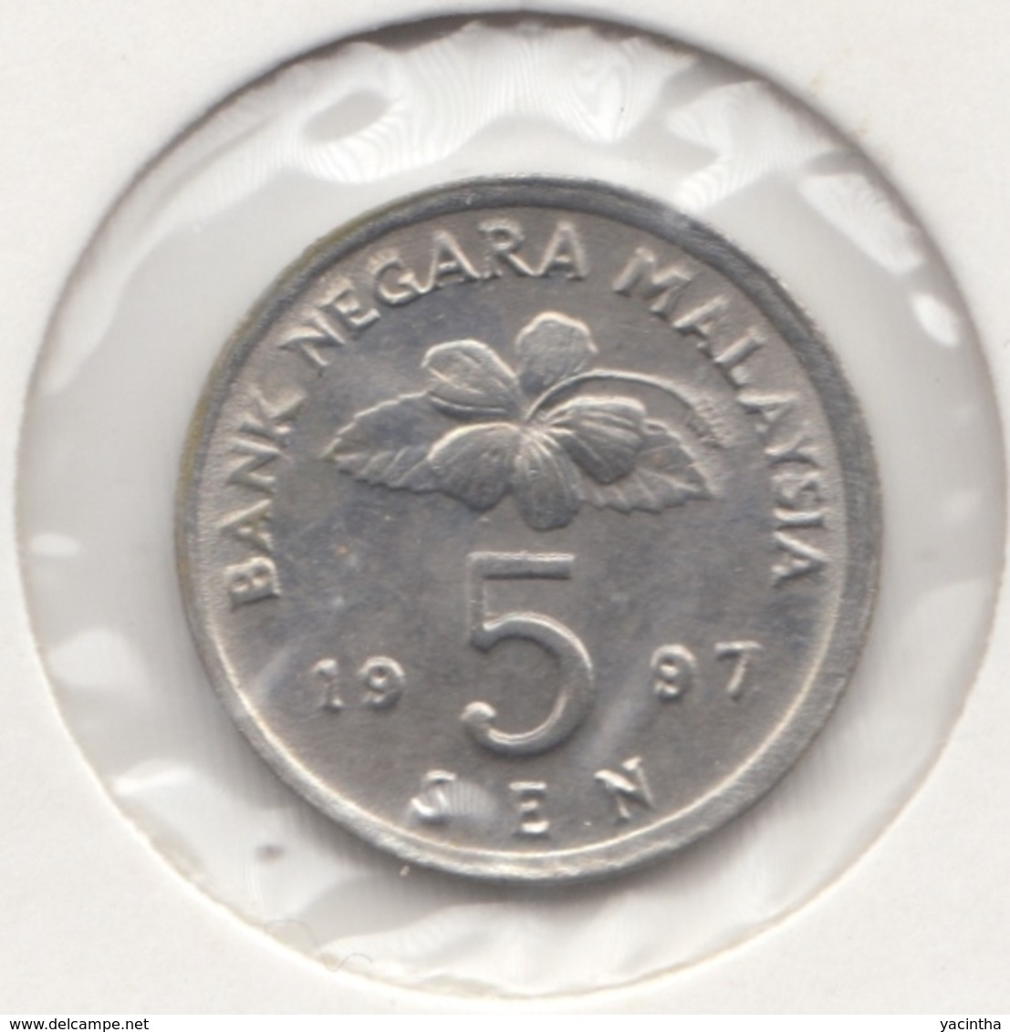 @Y@   Maleisie  5 Sen  1997   (4453) - Malaysie