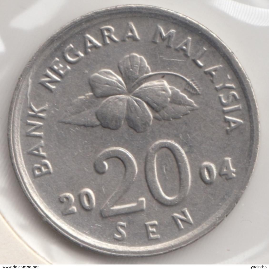 @Y@   Maleisie  20 Sen   2004    (4449) - Malaysie