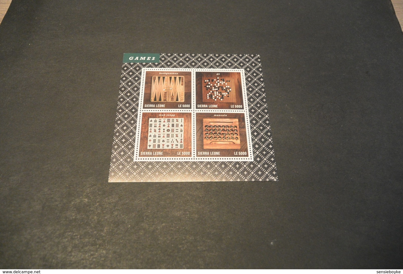 M4810 - Set In Blocs MNH Sierra Leone - 2013 Games - History Of Chess - Schaken