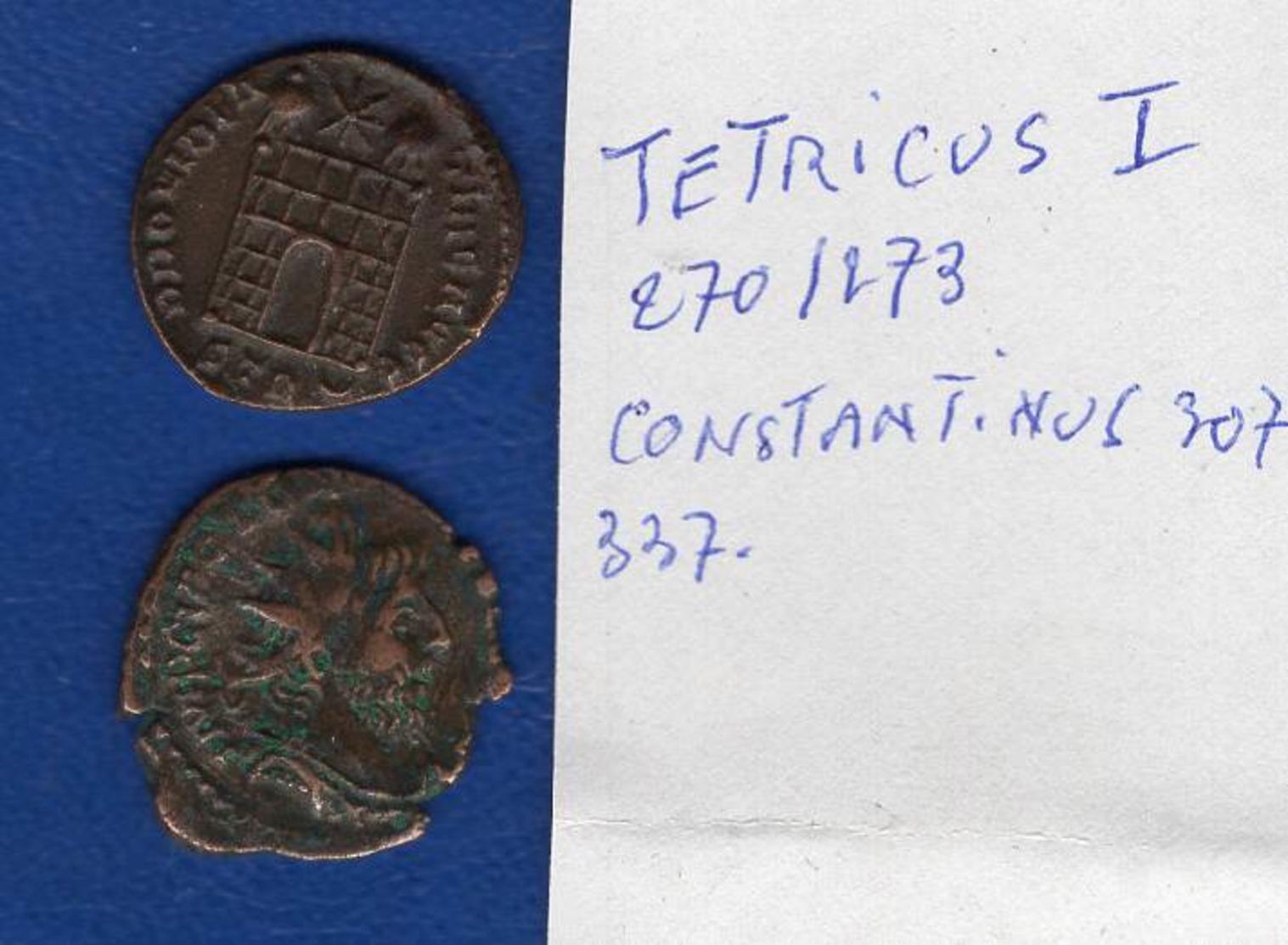 Tétricus 270/273 + Constantinus - 5. L'Anarchie Militaire (235 à 284)