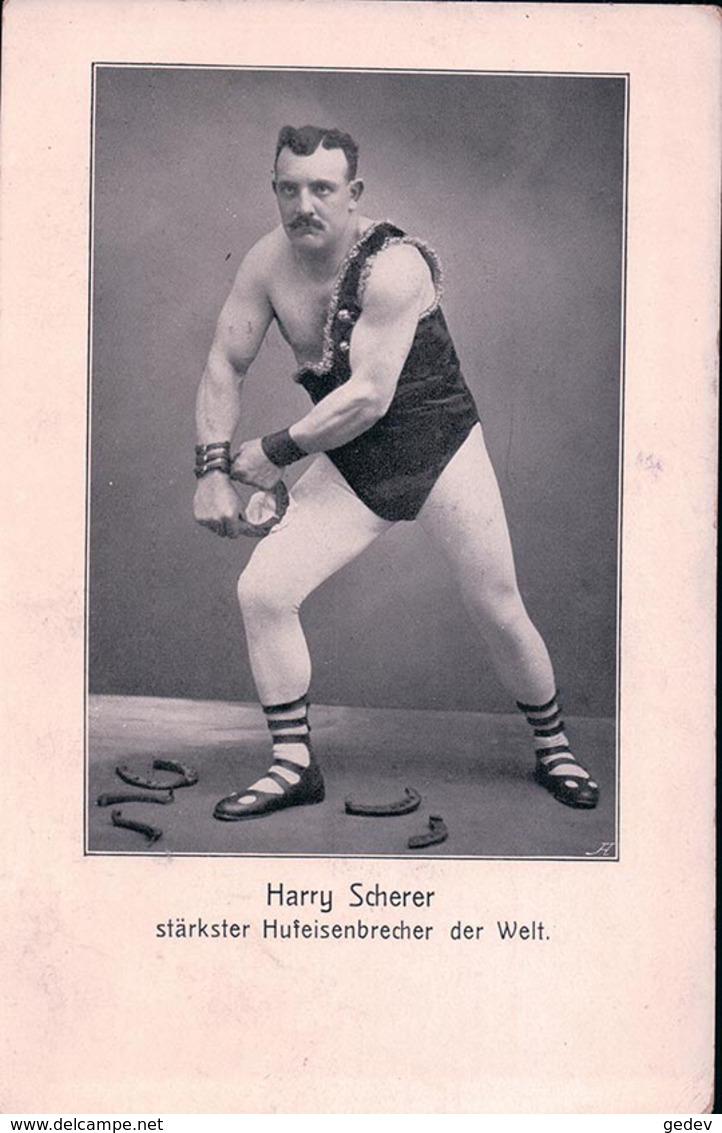 Harry Scherer Stärkster Hufeisenbrecher Der Welt (915) - Entertainers