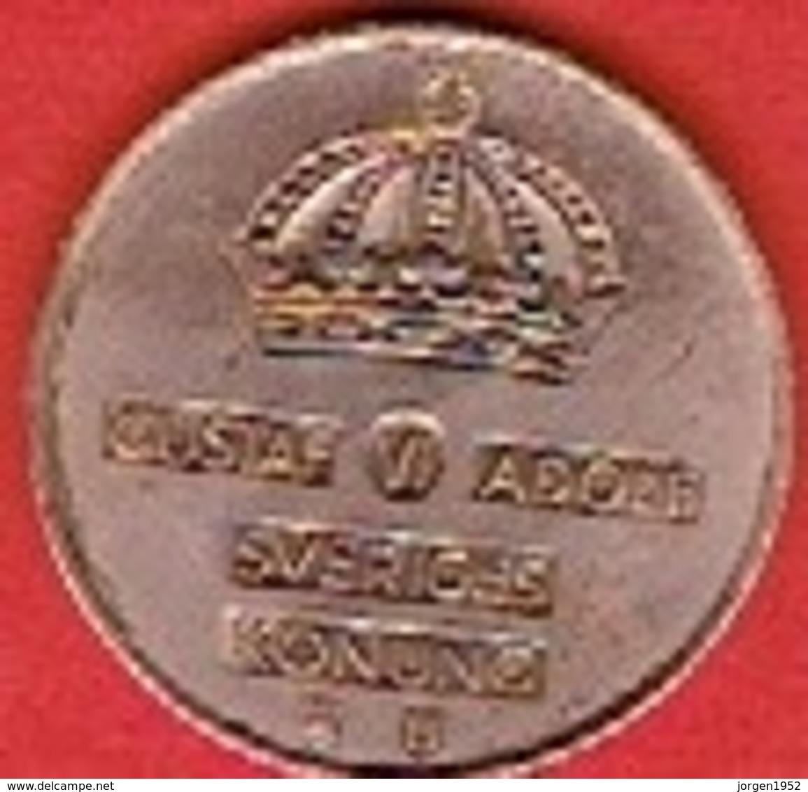 SWEDEN #  5 ØRE FROM 1965 - Suède