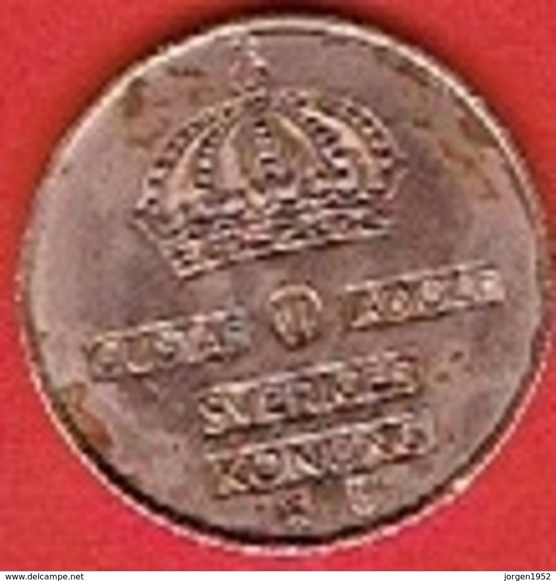 SWEDEN #  5 ØRE FROM 1967 - Suède