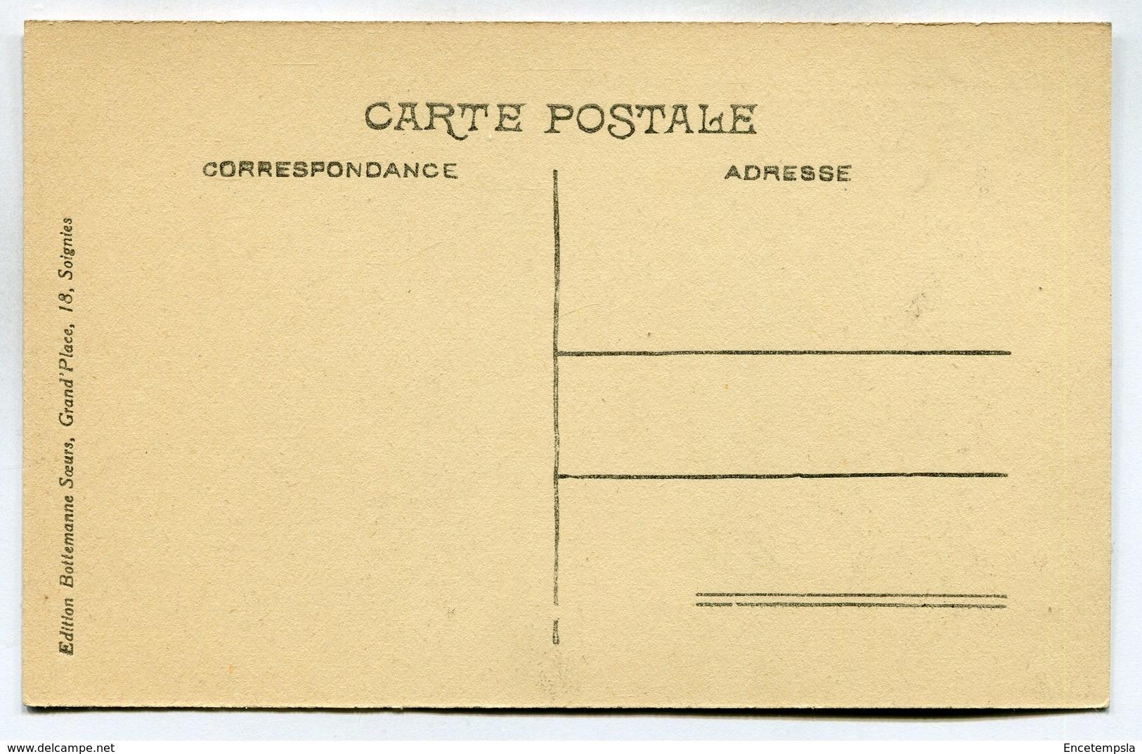 CPA - Carte Postale - Belgique - Soignies - Carrière De Perlonjour - Chantier à Blocs ( DD7257) - Soignies