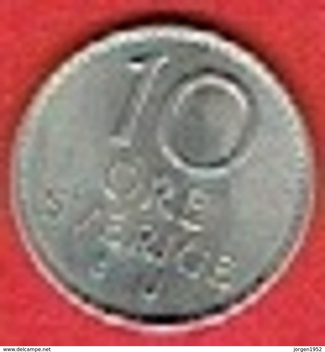 SWEDEN #  10 ØRE FROM 1968 - Suède