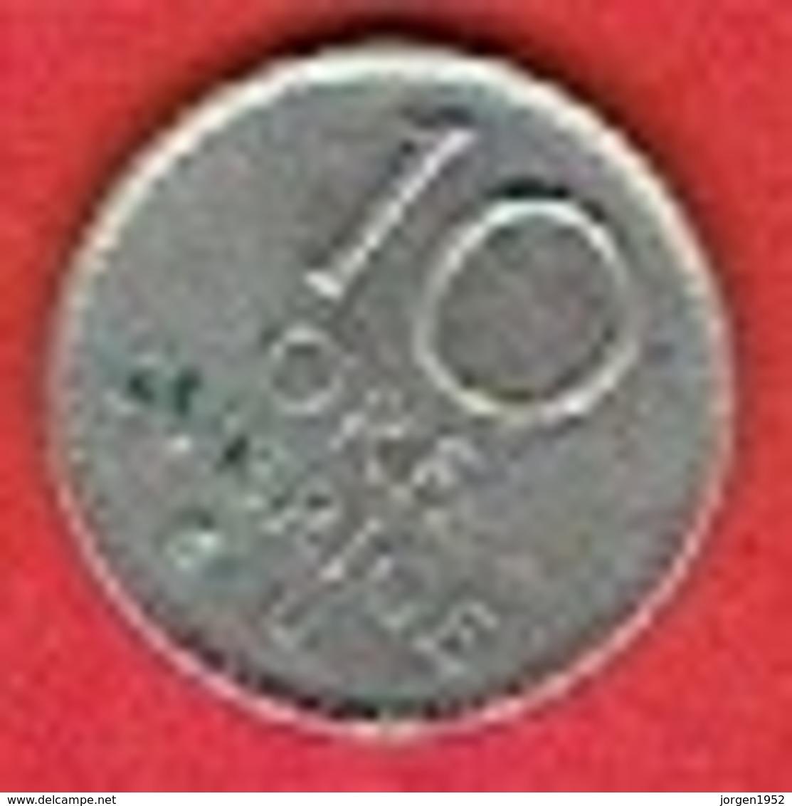 SWEDEN #  10 ØRE FROM 1973 - Suède