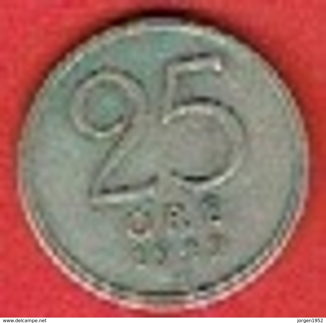 SWEDEN #  25 ØRE FROM 1949 - Suède