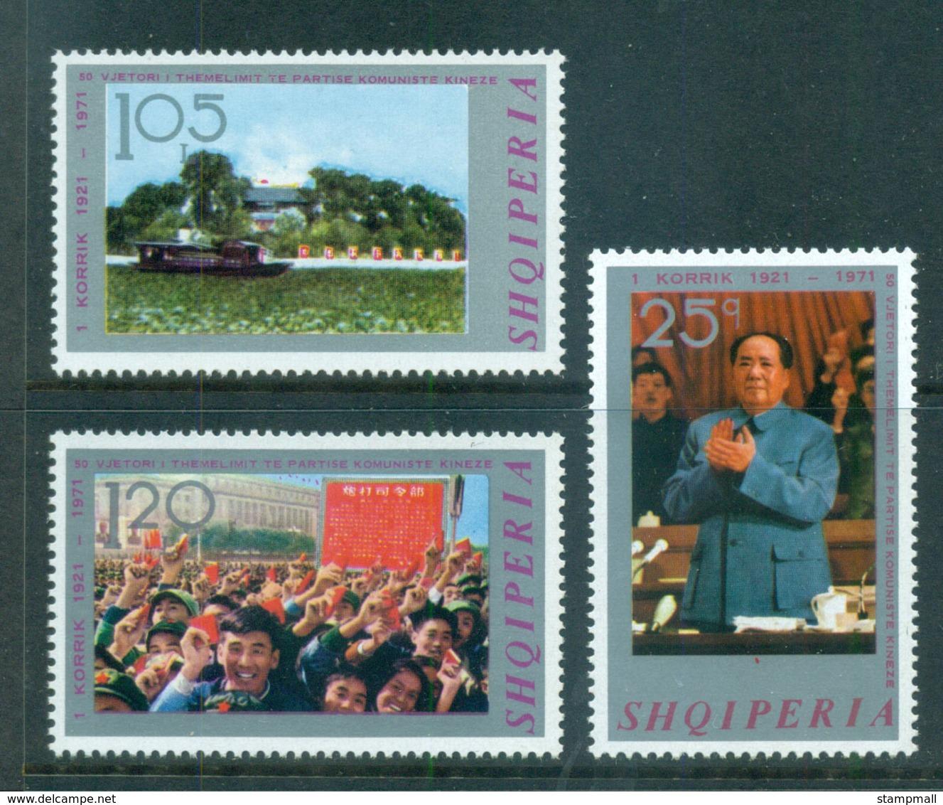 Albania 1971 Chinese Communist Party MUH Lot69733 - Albania