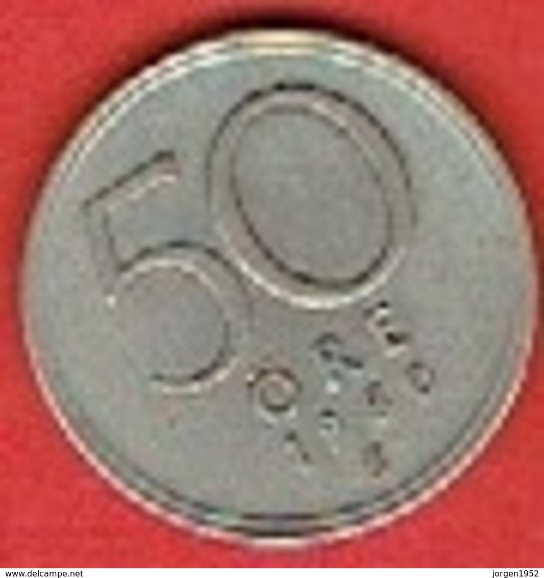 SWEDEN #  50 ØRE FROM 1950 - Suède