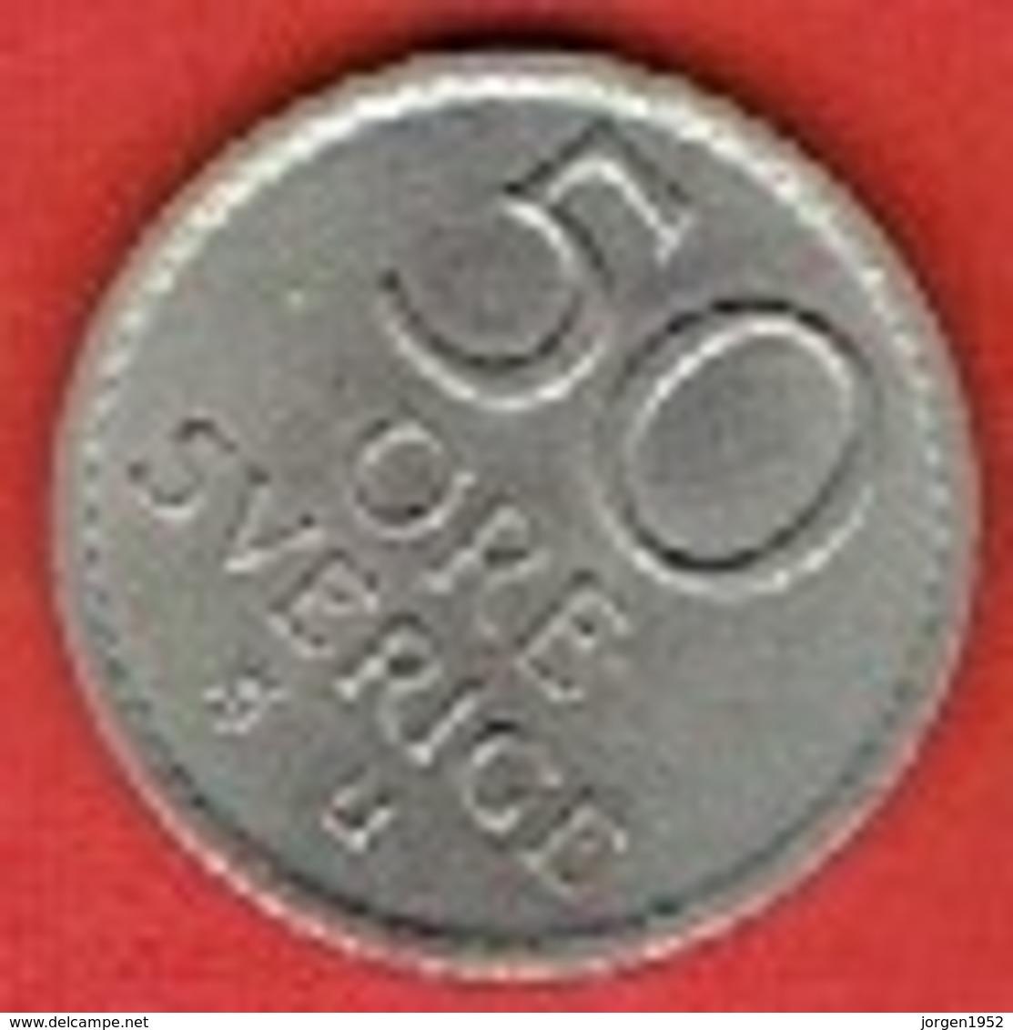 SWEDEN #  50 ØRE FROM 1971 - Suède