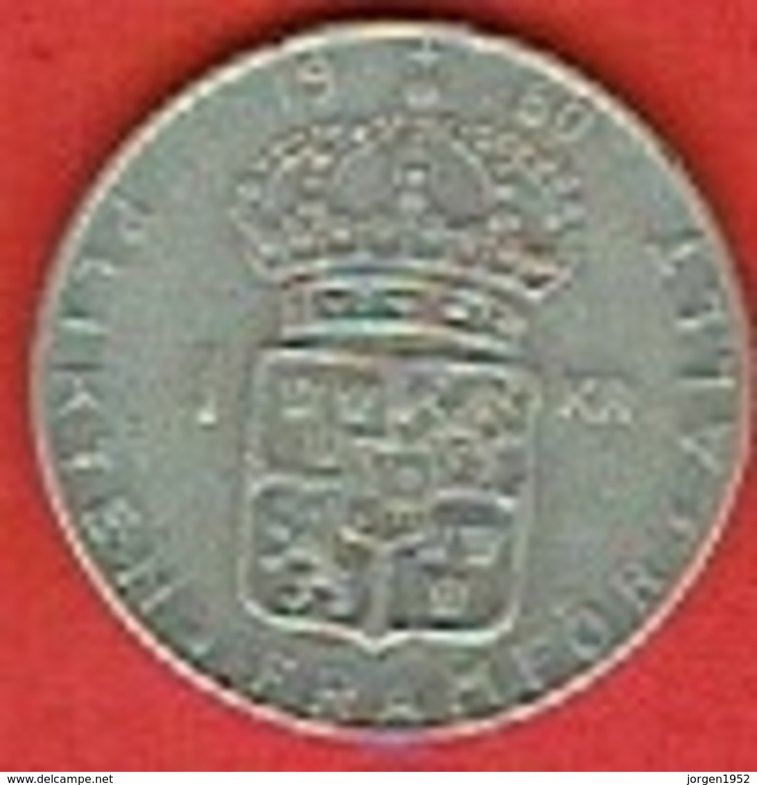 SWEDEN #  1 KRONE FROM 1960 - Suède