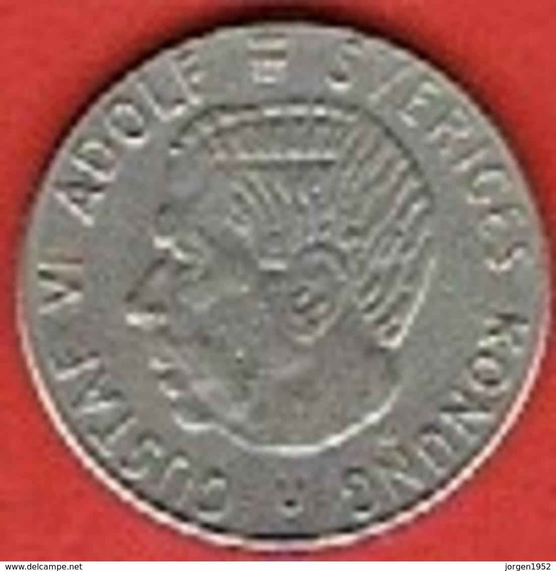 SWEDEN #  1 KRONE FROM 1968 - Suède