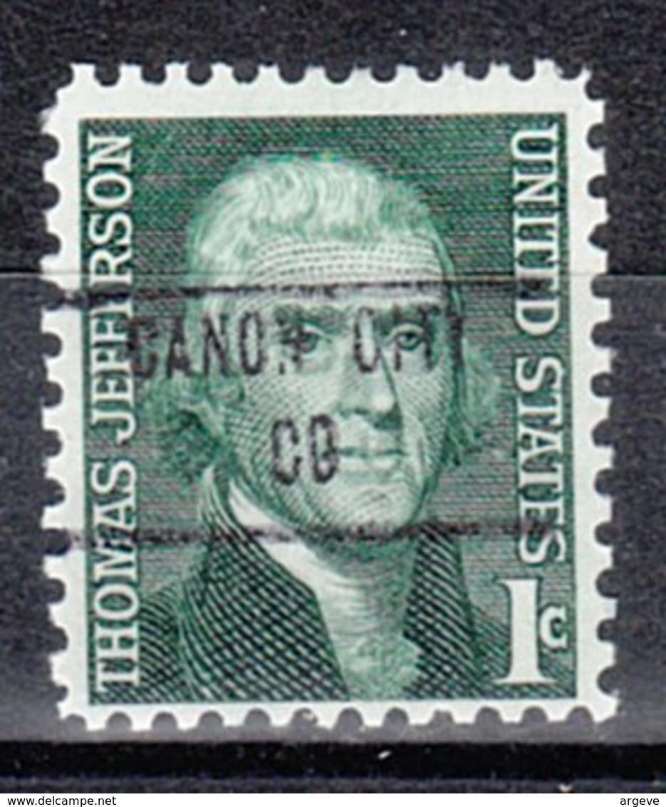 USA Precancel Vorausentwertung Preo, Locals Colorado, Canon City 853 - Vereinigte Staaten