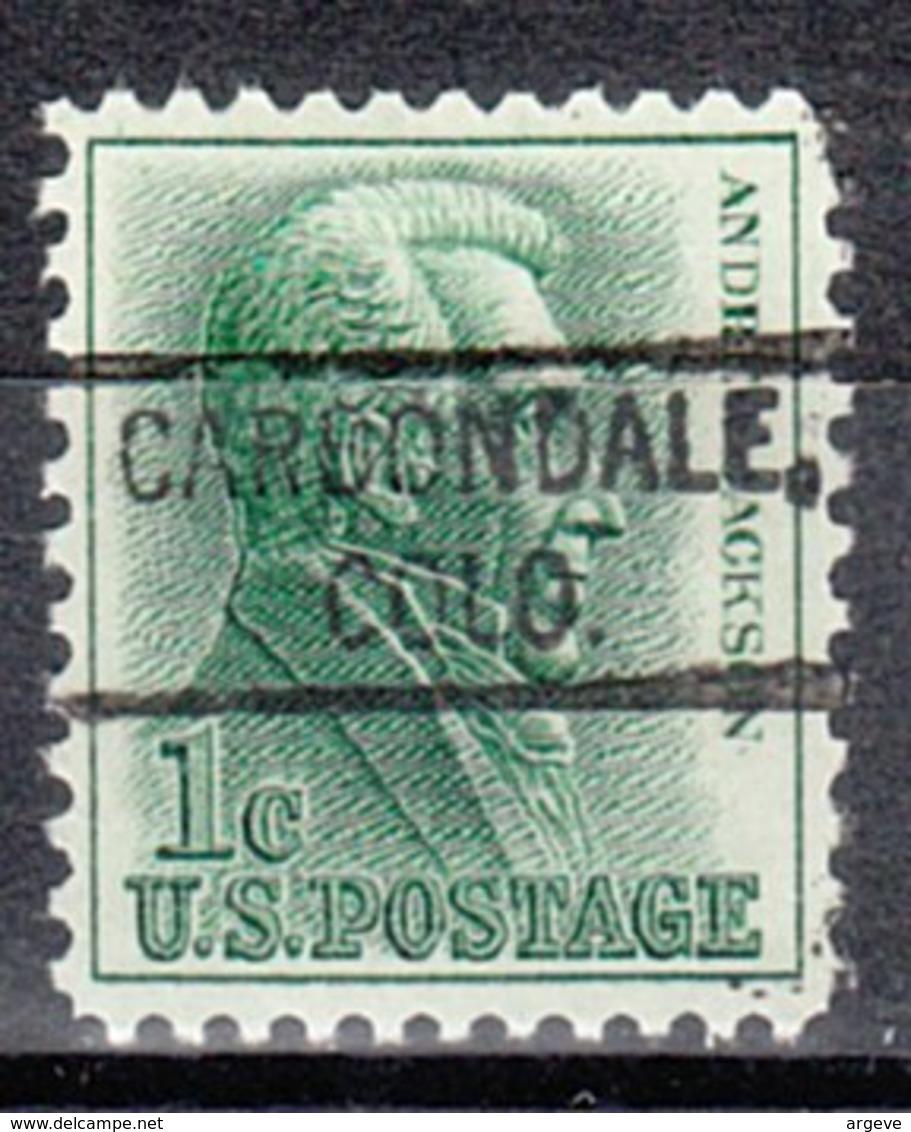 USA Precancel Vorausentwertung Preo, Locals Colorado, Carbondale 804 - Vereinigte Staaten