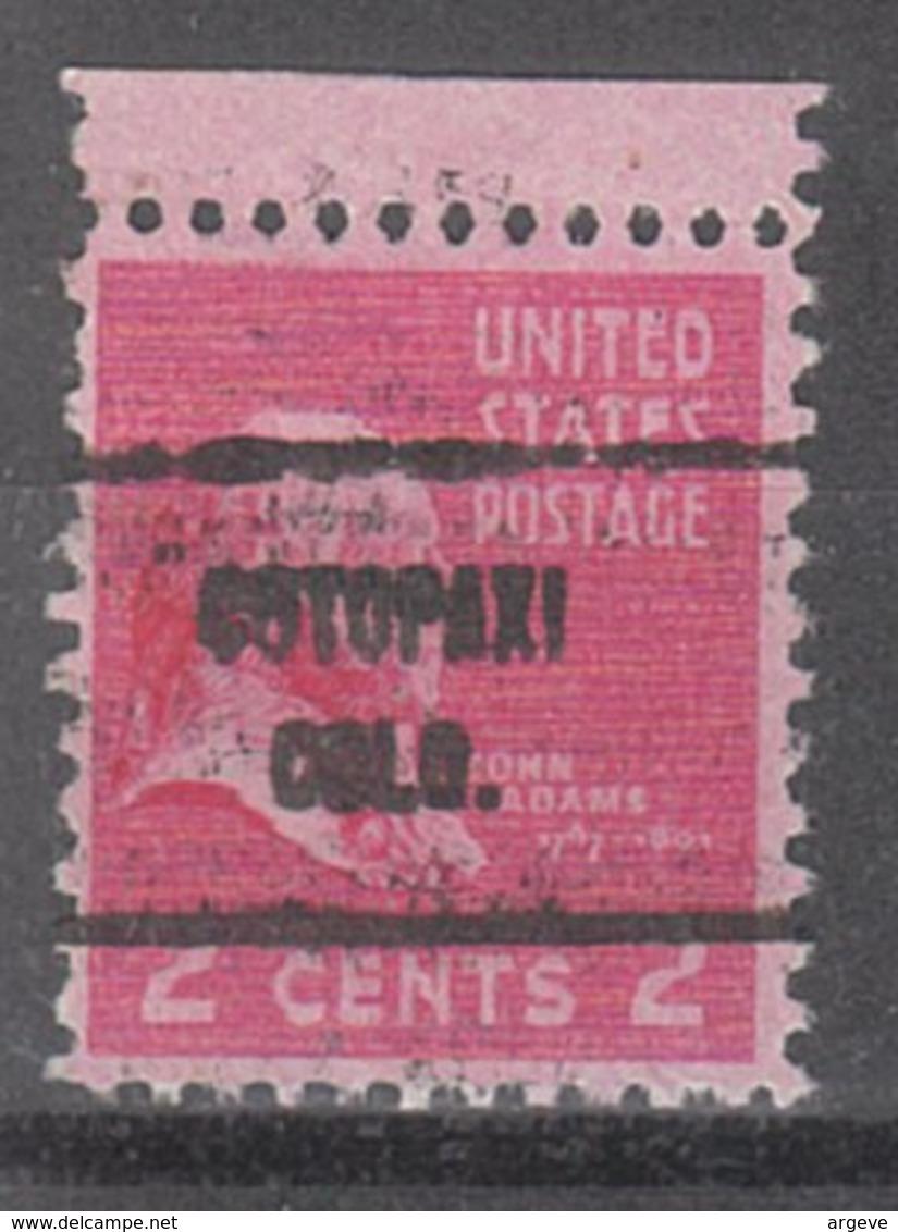 USA Precancel Vorausentwertung Preo, Locals Colorado, Cotopaxi 713 - Vereinigte Staaten