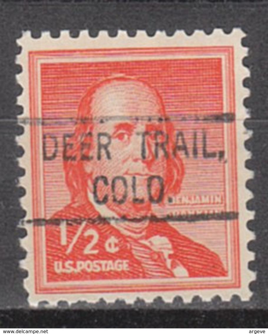 USA Precancel Vorausentwertung Preo, Locals Colorado, Deertrail 804 - Vereinigte Staaten