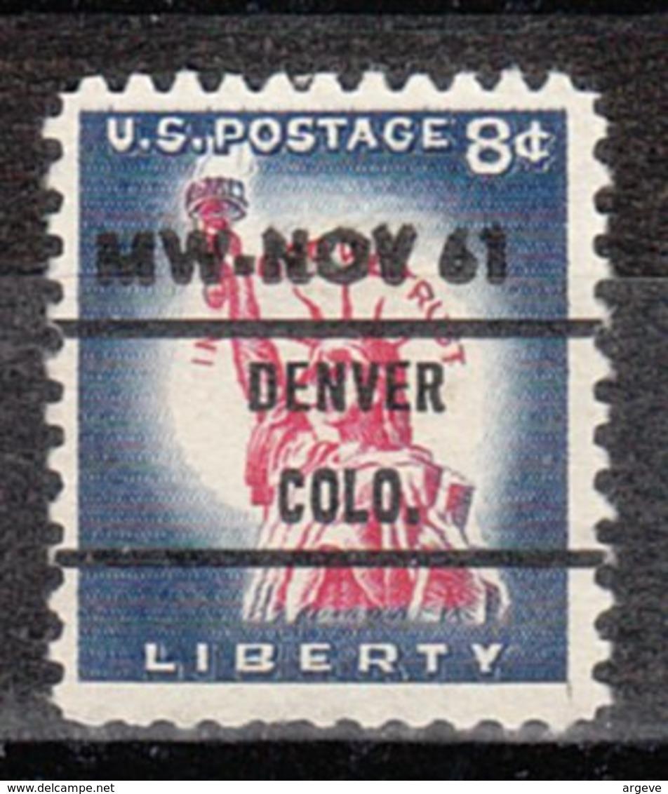 USA Precancel Vorausentwertung Preo, Bureau Colorado, Denver 1042-76 Dated - Vereinigte Staaten