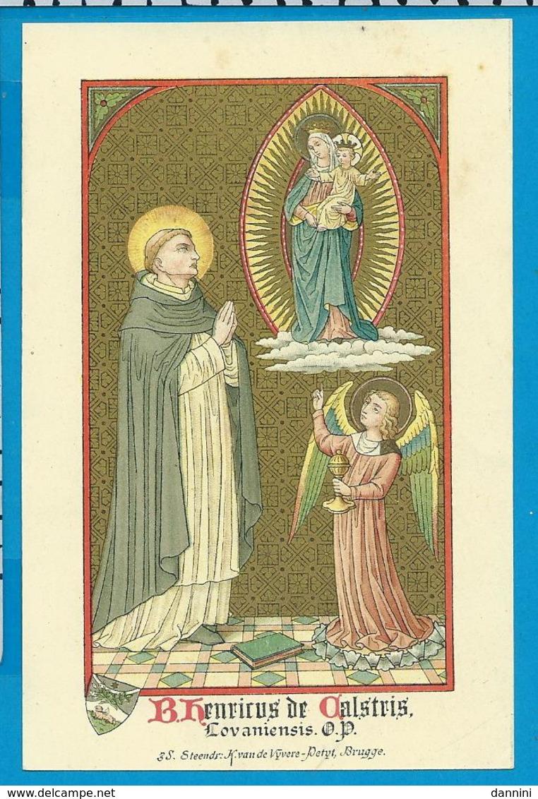 Holycard    B. Henricus De Calstris - Images Religieuses