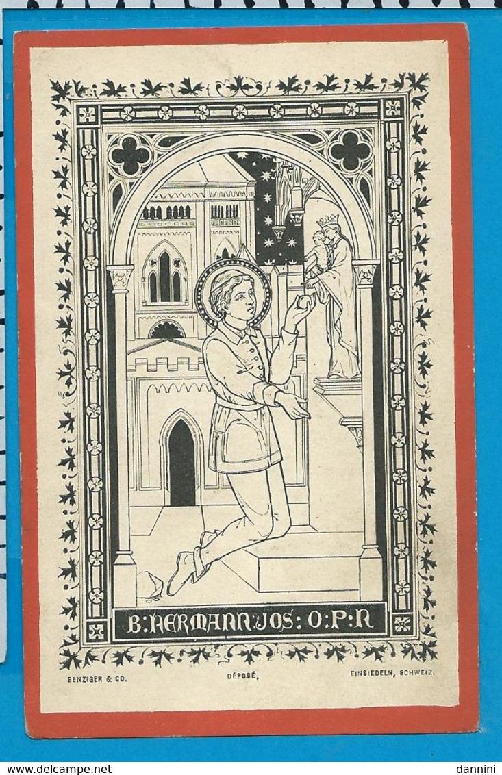 Holycard    B. Hermann - Joseph - Images Religieuses