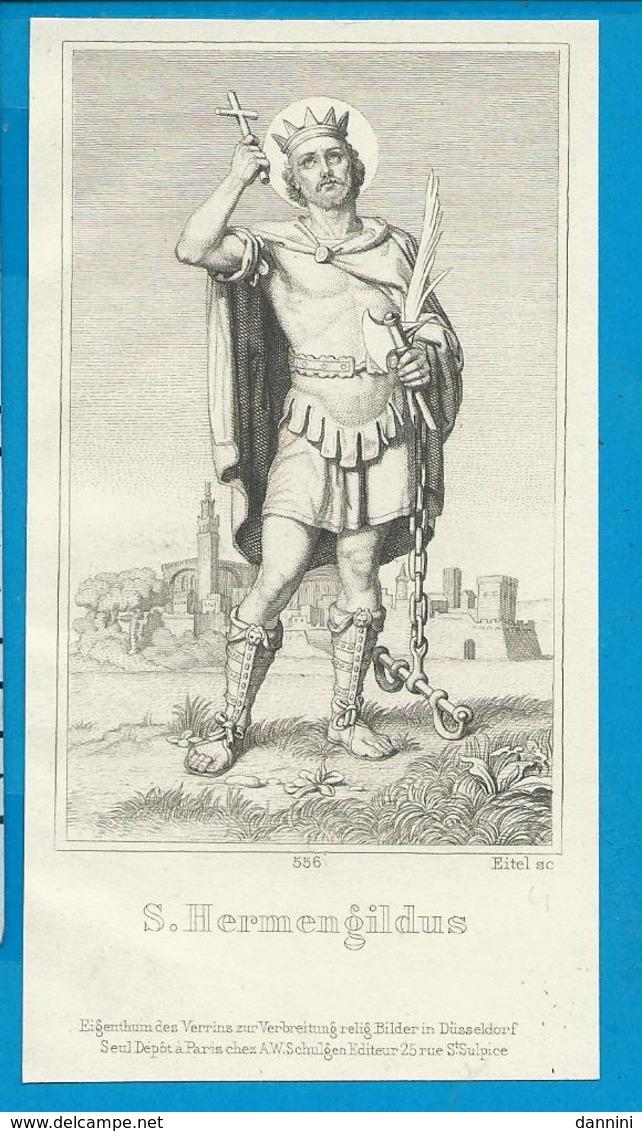 Holycard    St. Hermengildus - Images Religieuses