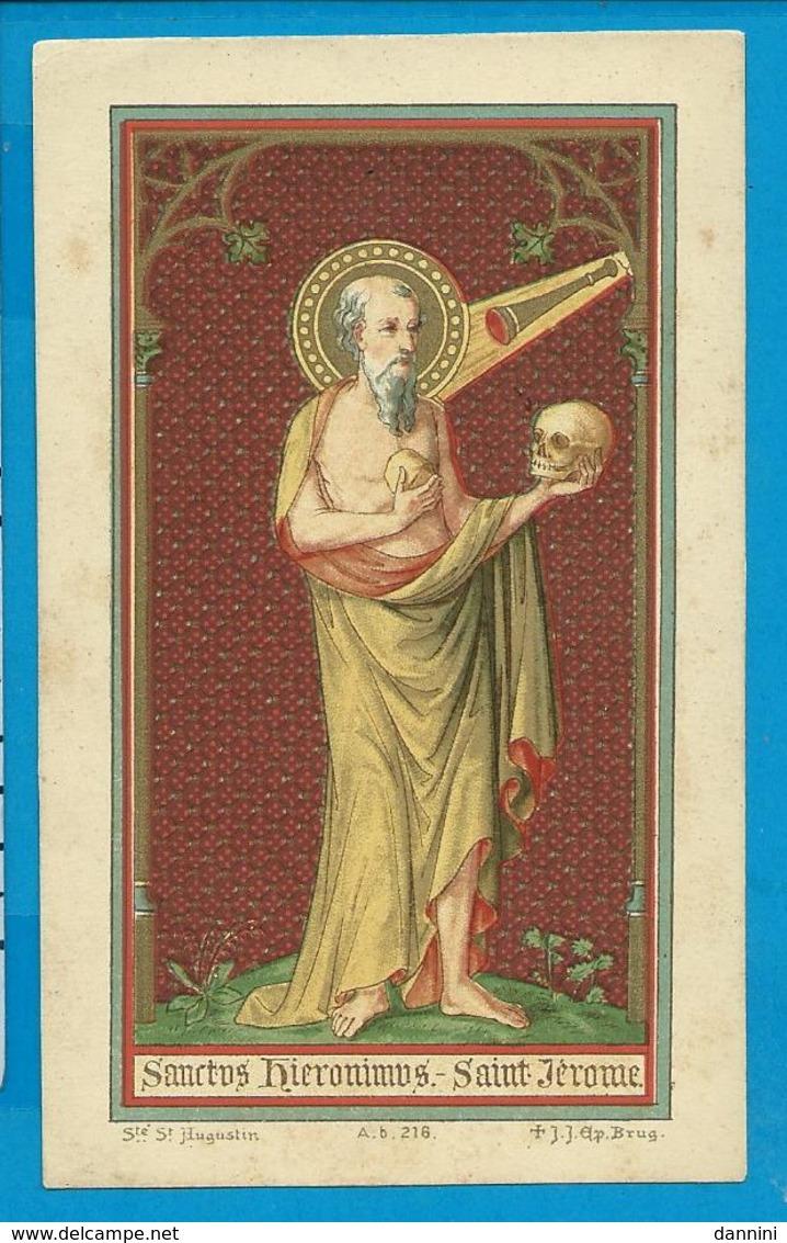 Holycard    St. Hieronimus - Images Religieuses