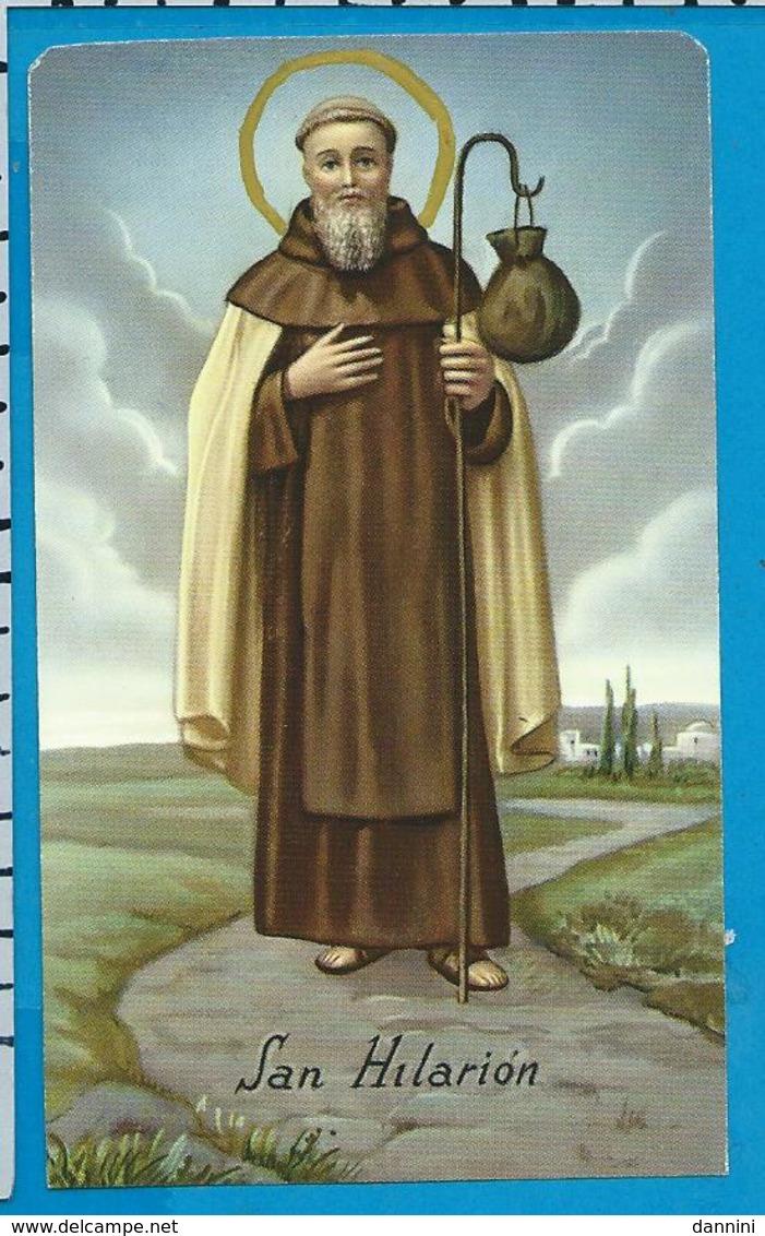 Holycard    St. Hilarion - Images Religieuses