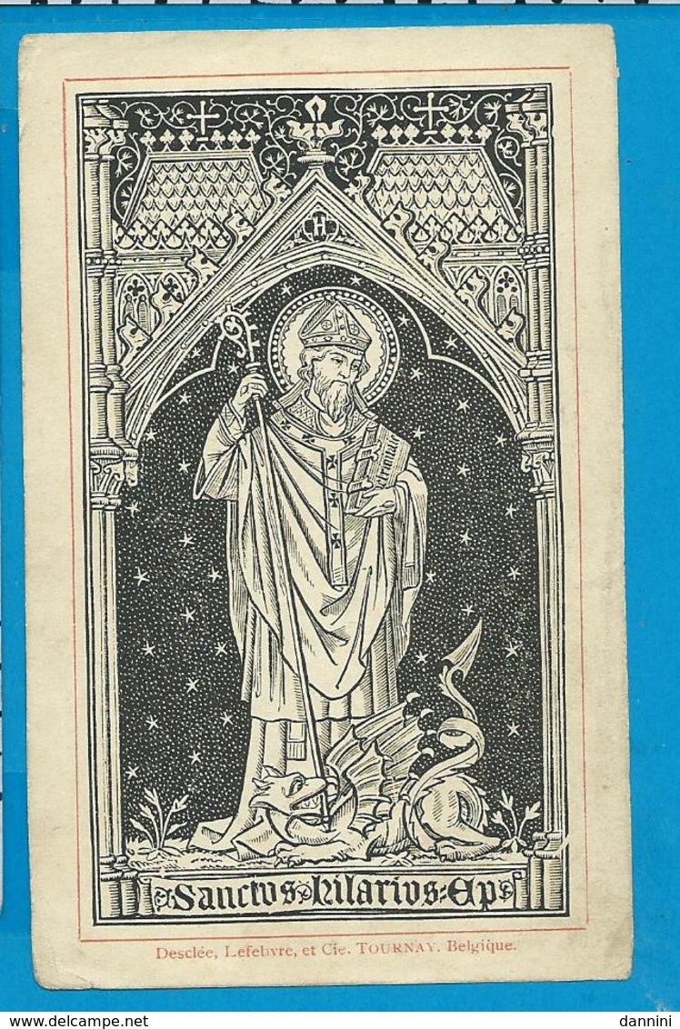 Holycard    St. Hilarius - Images Religieuses